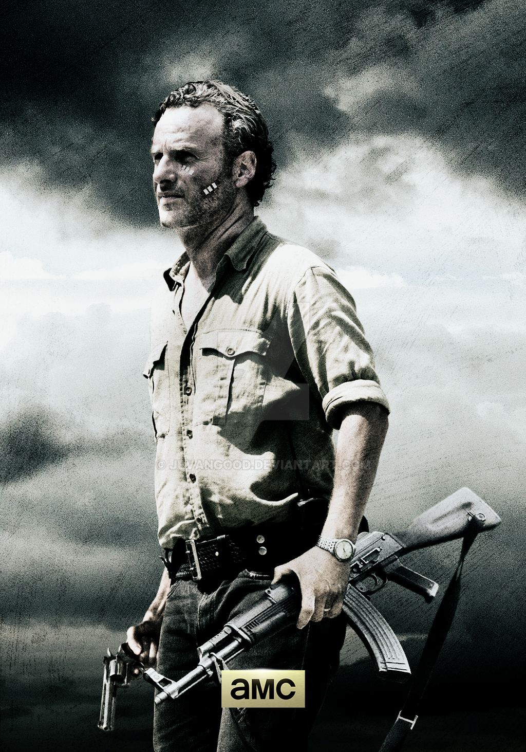 twd season 6 poster by jevangood on deviantart