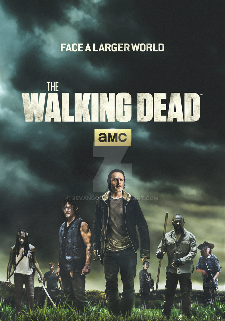 the walking dead - season 6 - face a larger worldjevangood on