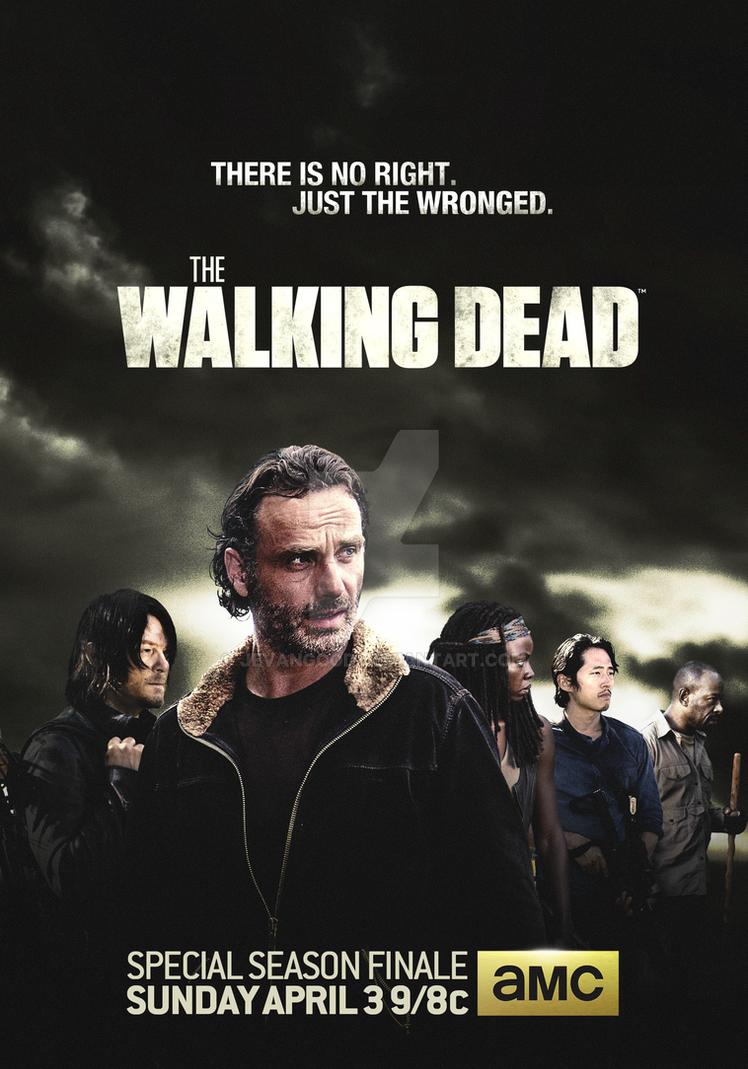 The Walking Dead Season 6 Finale by jevangood