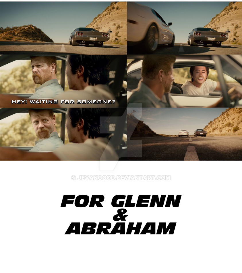 Glenn and Abraham by jevangood