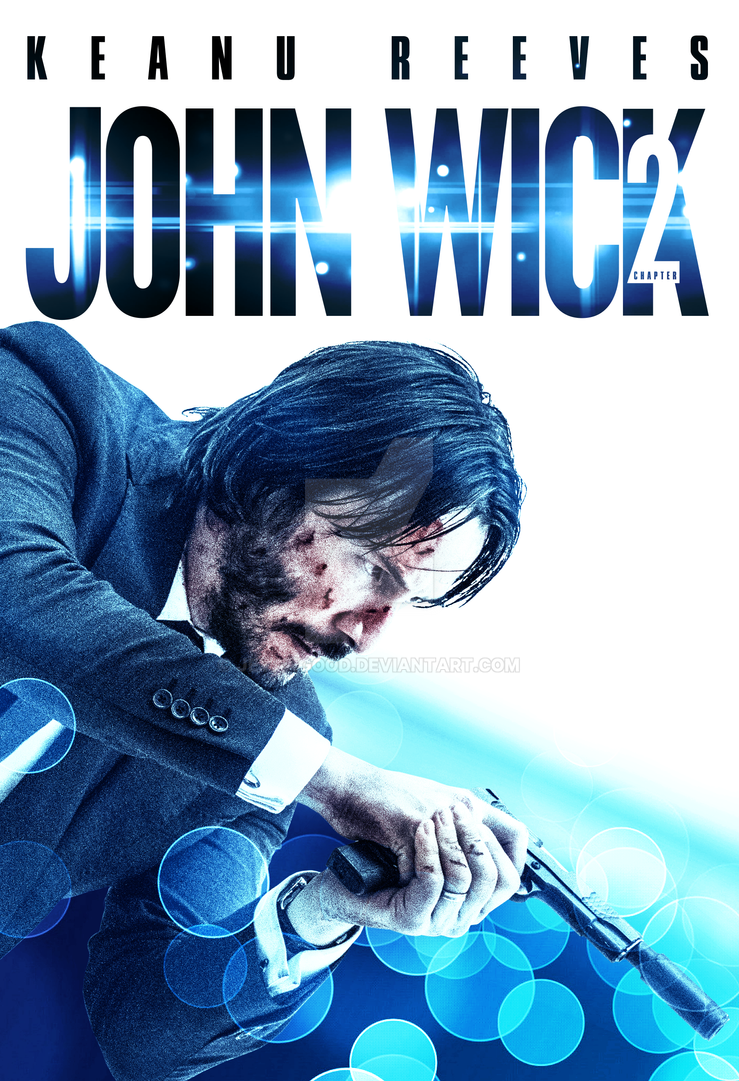 John Wick: Chapter 2 poster by jevangood