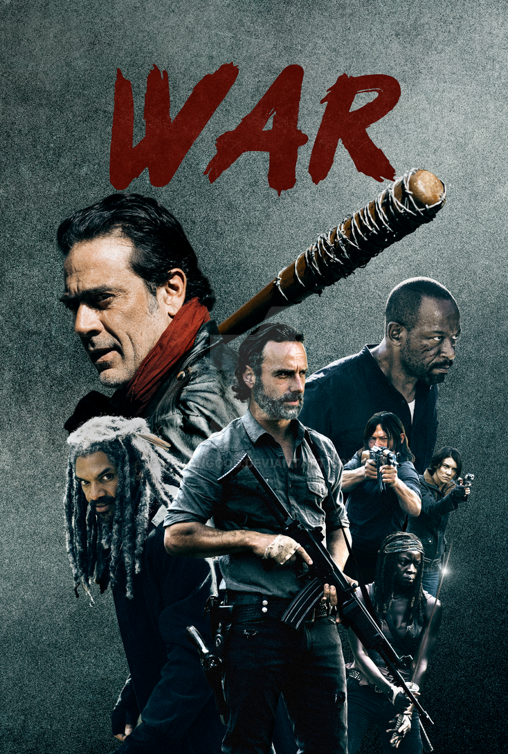 The Walking Dead - Season 8 Poster by jevangood