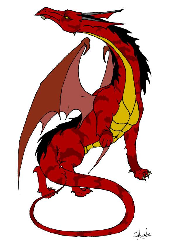 Dragon Tachete by silwek