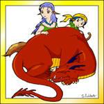 Le dragon et les enfants
