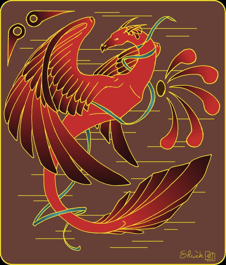 Dragon oiseau by silwek