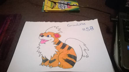 Growlithe by sapphire2012