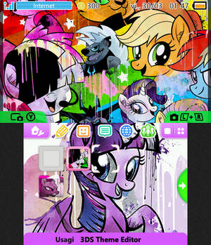[3DS Theme] MLP: The Movie