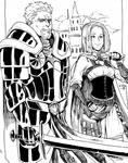 Keldorn and Imoen by Viewty