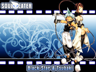 Black Star X Tsubaki by DeathGuns