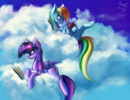 Reading Buddies by FoughtDragon01