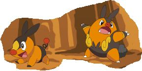 Tepig and Pignite by pikatheking025