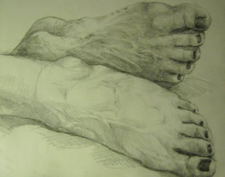 Feets by EvilYardGnome