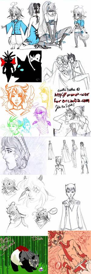 WFA Sketch dump