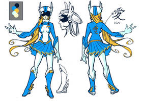 Sentai Lovely profile by shilane