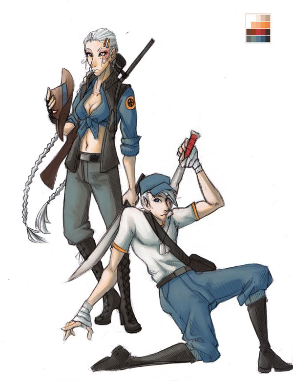 Blue Team by shilane