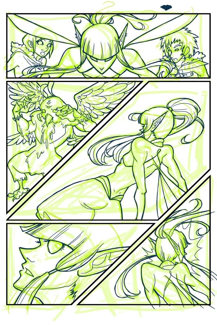 VS. Ship, Page 6 WIP by shilane