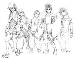 Heroes by shilane