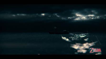 Zelda DX : Ocean by MaximeVillemard