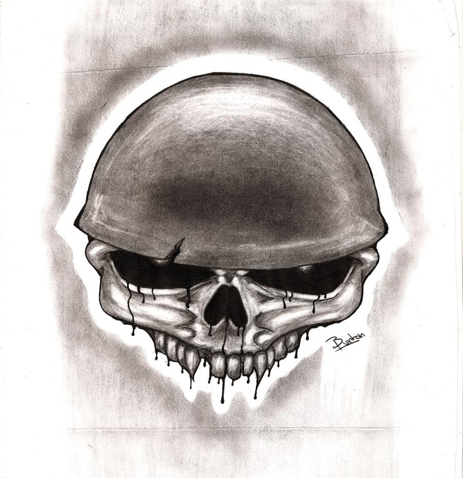 Evil Skull by Kenny-The-O on DeviantArt