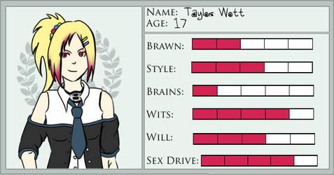DABR Card: Taylor Wott by Kranna