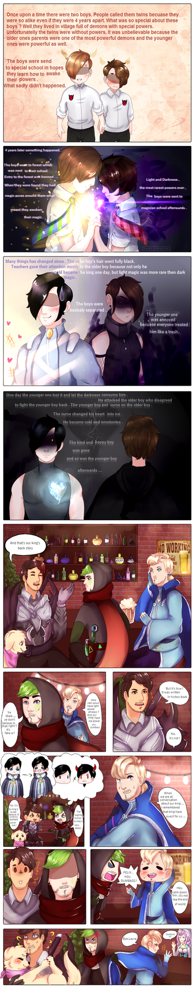 Origins of Youtuberia pg 1 by SepticMelon
