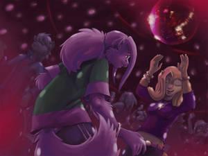 Darius and Sheana Dancing