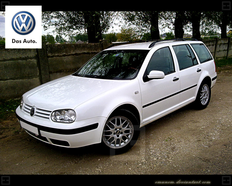 Das Auto VW Golf MK IV Variant by Emunem
