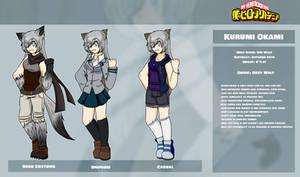 [My Hero Academia OC] Kurumi Okami by Huffie-Artist