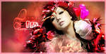 Lady in Red Signature by Cussiopeia