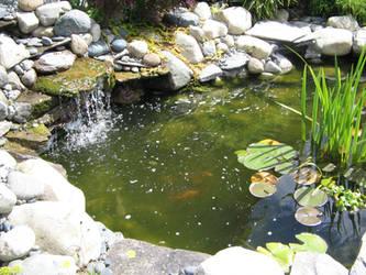 My Chosen Cafe Pond by AmongTheFirst