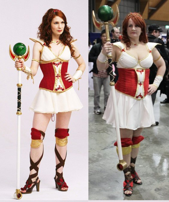 The Real Codex vs My Codex Costume. by Anna-Silver