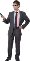 Business people 3d reference 2 png