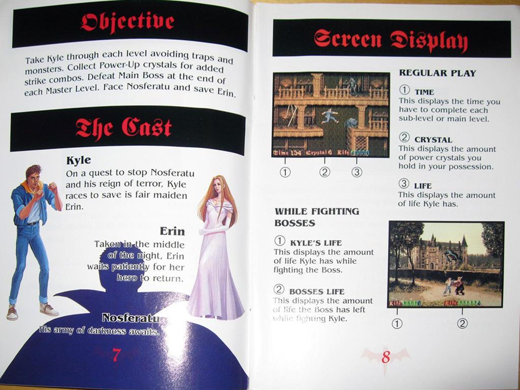 nosferatu snes booklet by digitalwideresource on deviantart rh deviantart com super nintendo manual scans SNES Manual PDF