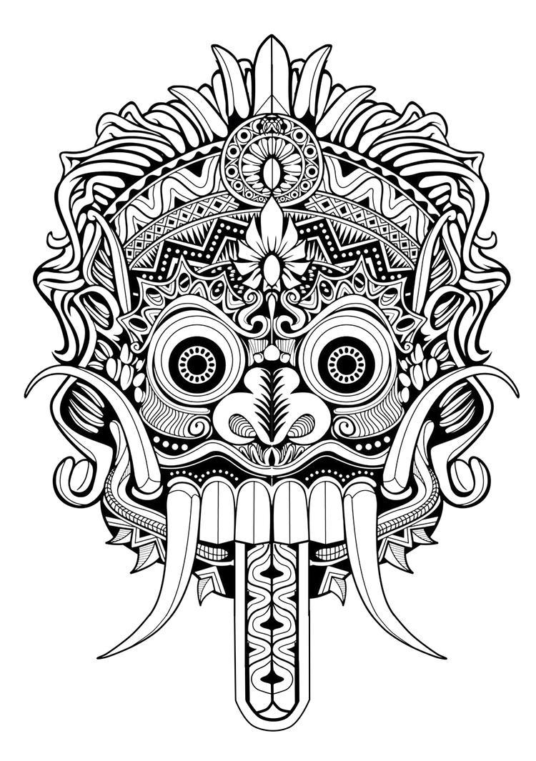 Symmetrical Tattoo Design