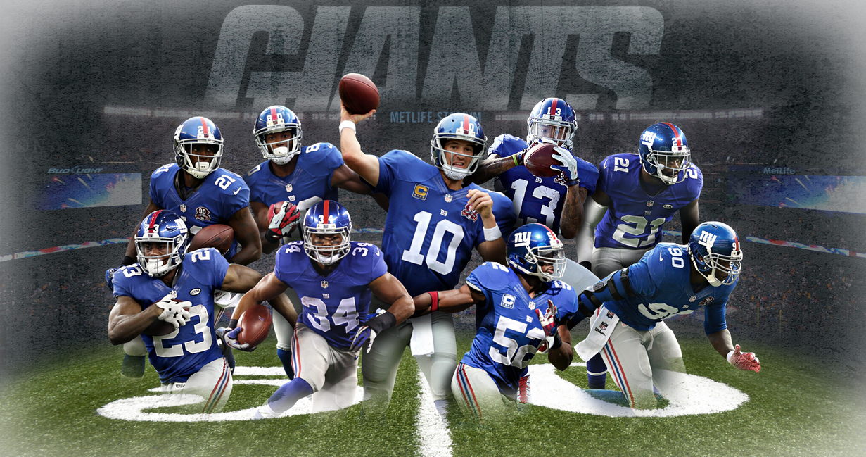 New York Giants Wallpaper Team By AlexBedard