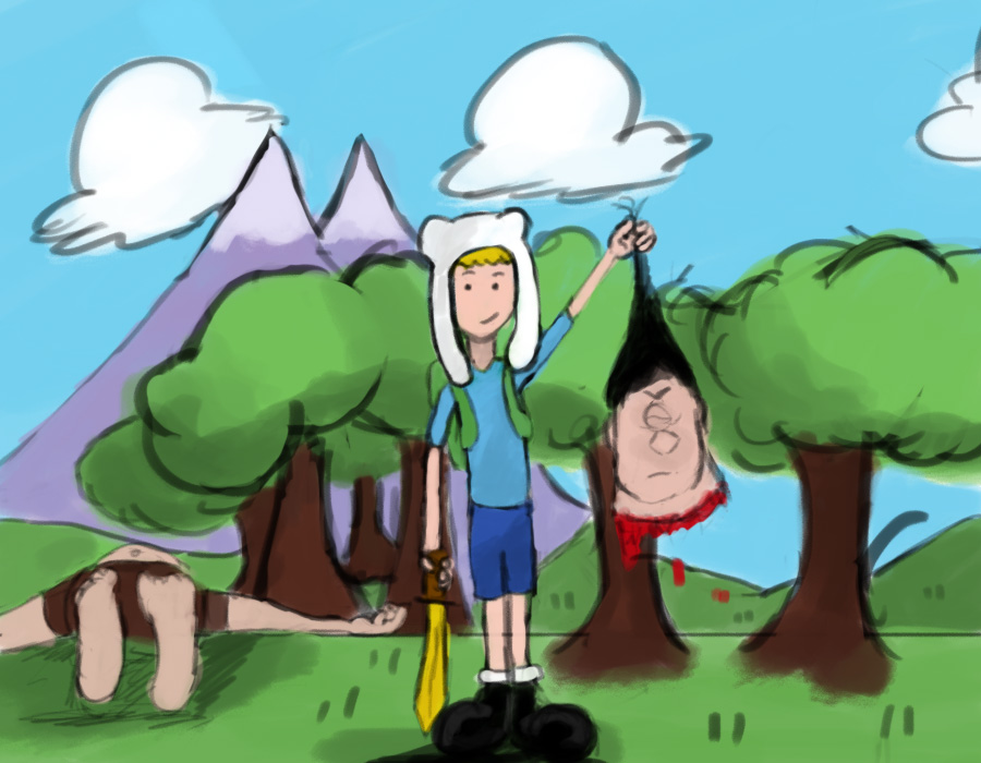 Adventure time X3 by Tuguel