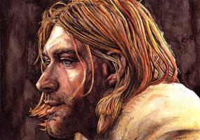 Kurt Cobain by peet