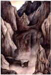 Beren crosses Ered Gorgoroth