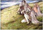 Awaiting the Riders of Rohan