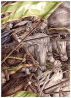 The Ride of the Rohirrim by peet