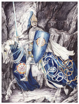 Fingolfin challenges Morgoth