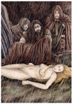 Turambar finds Nienor on Haudh-en-Elleth by peet
