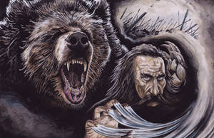 Beorn In Battle