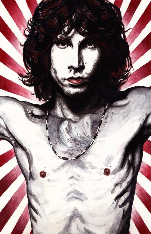 Jim Morrison by peet