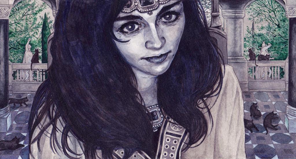 Queen Beruthiel by peet