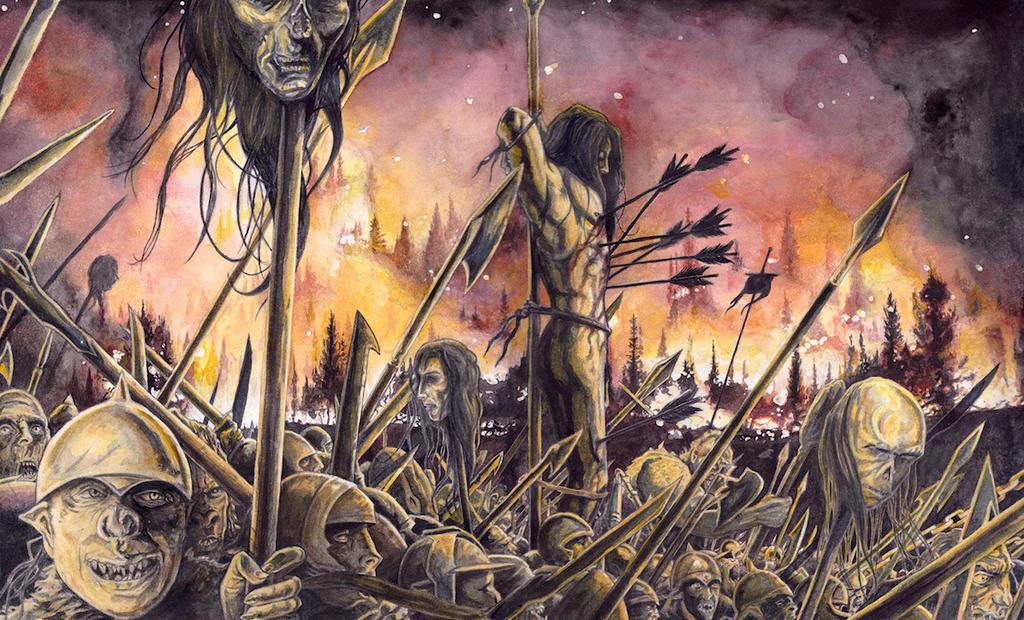 Celebrimbor's Death by peet on DeviantArt