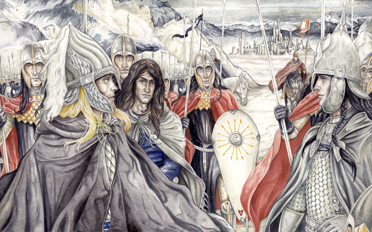 A Vision of Gondolin by peet
