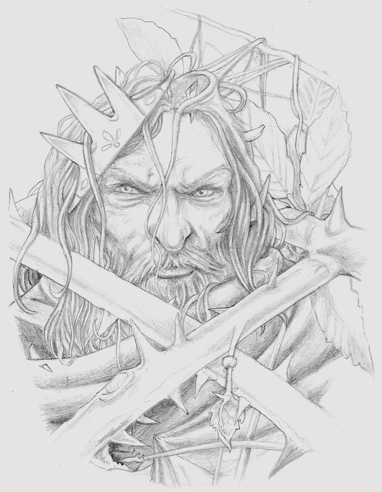 Fallen King (Olfen) by peet
