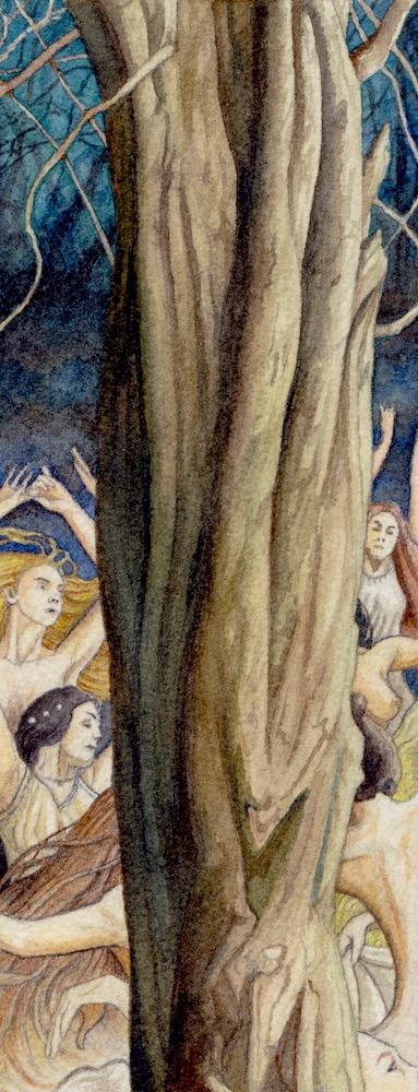 Dancing Nymphs by peet