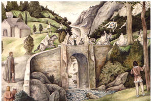 Turin's first sight of the Eldar by peet